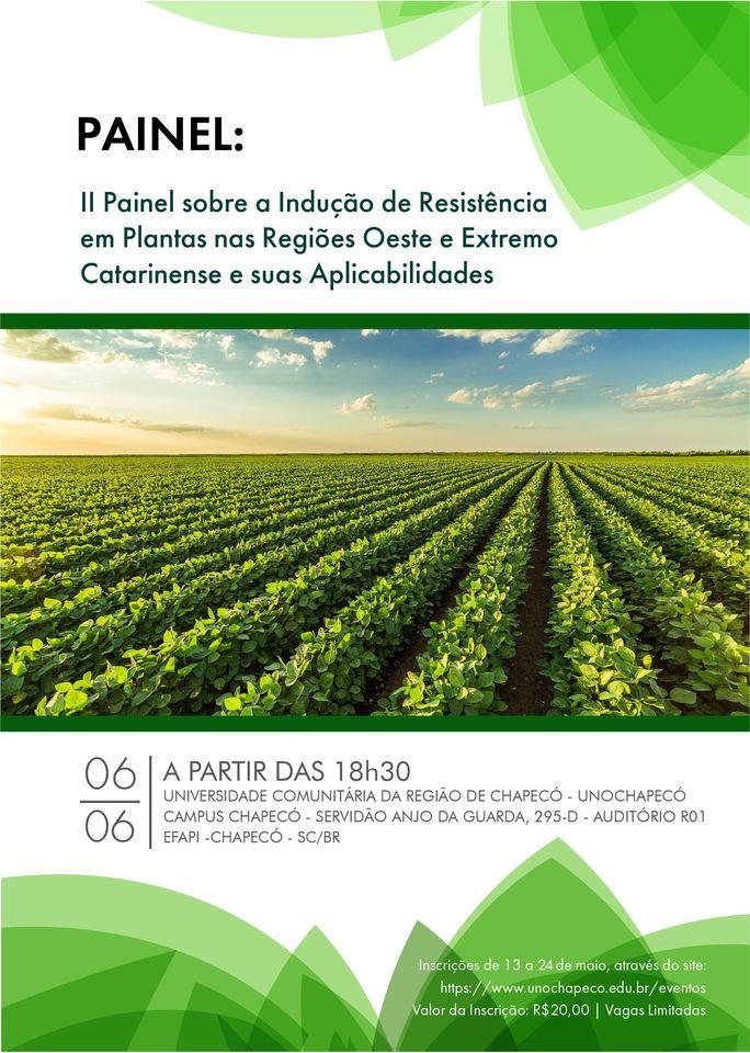 II Painel sobre a Indução de Resistência em Plantas
