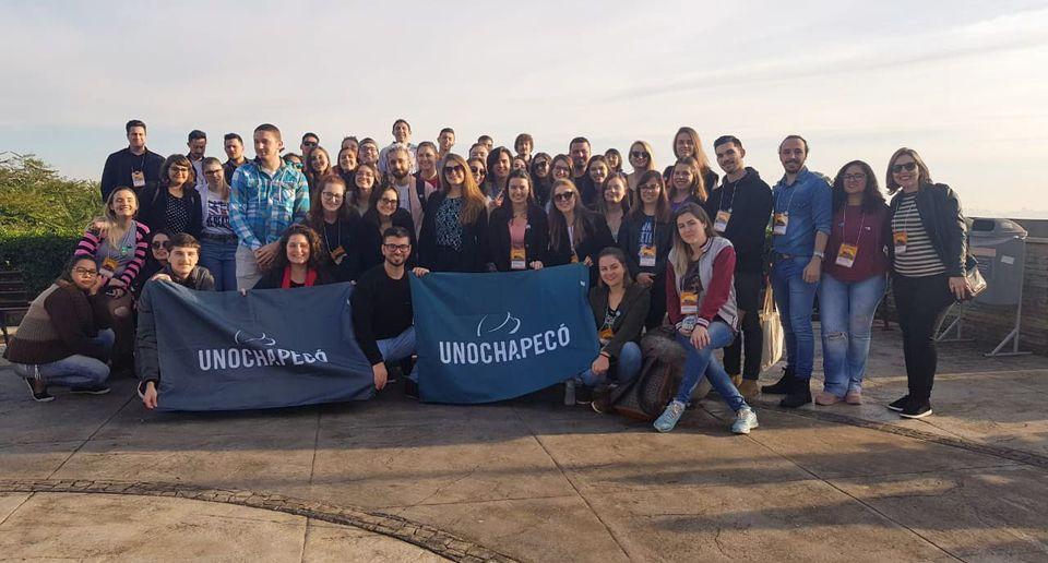 Estudantes da Unochapecó são premiados na Expocom 2019