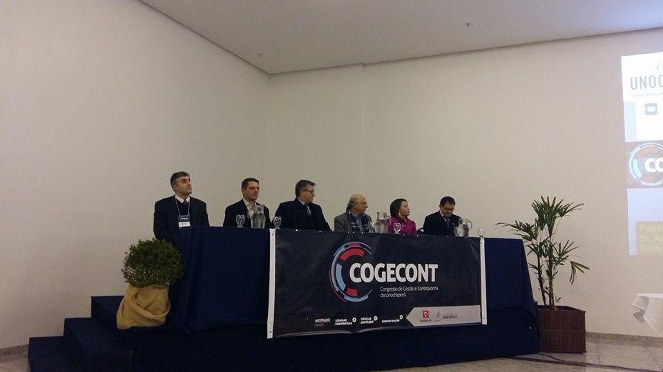 Evento discute gestão e controladoria com foco no desenvolvimento sustentável