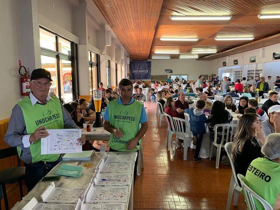 Unochapecó apoia a Festa do Padroeiro de São Lourenço do Oeste