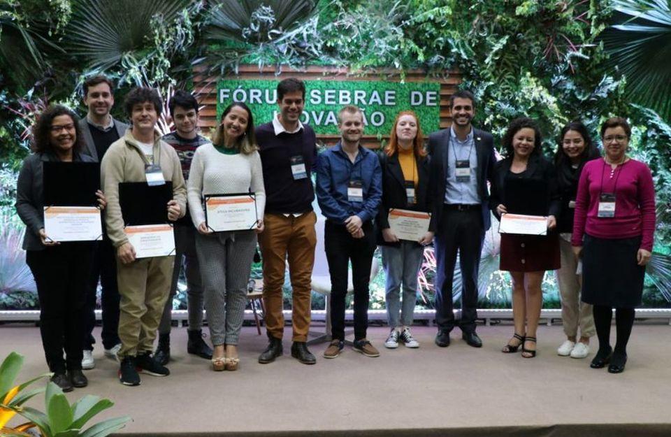 Inctech Unochapecó é premiada no Desafio de Incubação e Aceleração de Impacto