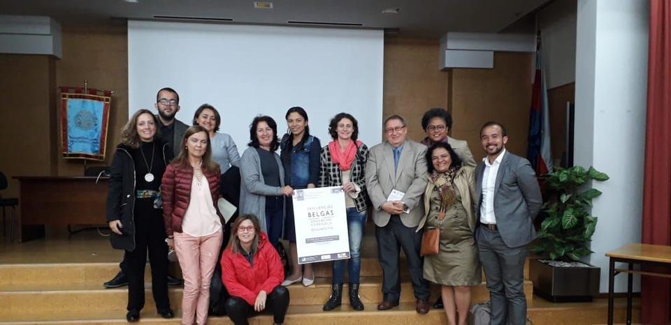 Mestrandas do PPGE participam de evento em Salamanca na Espanha