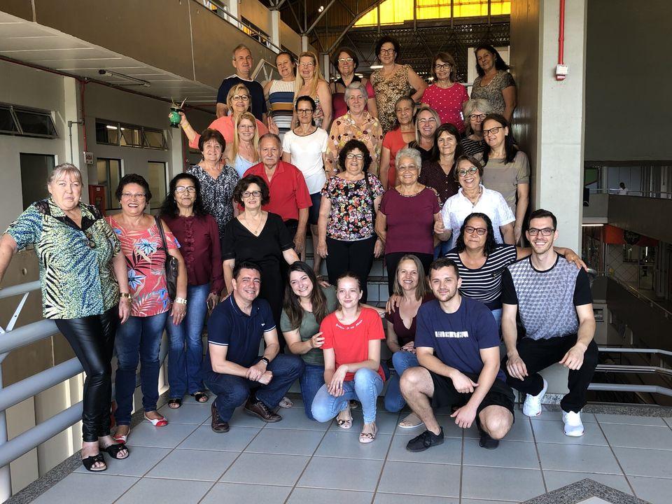 Participantes de pesquisa feita pelo PPGCS realizam confraternização