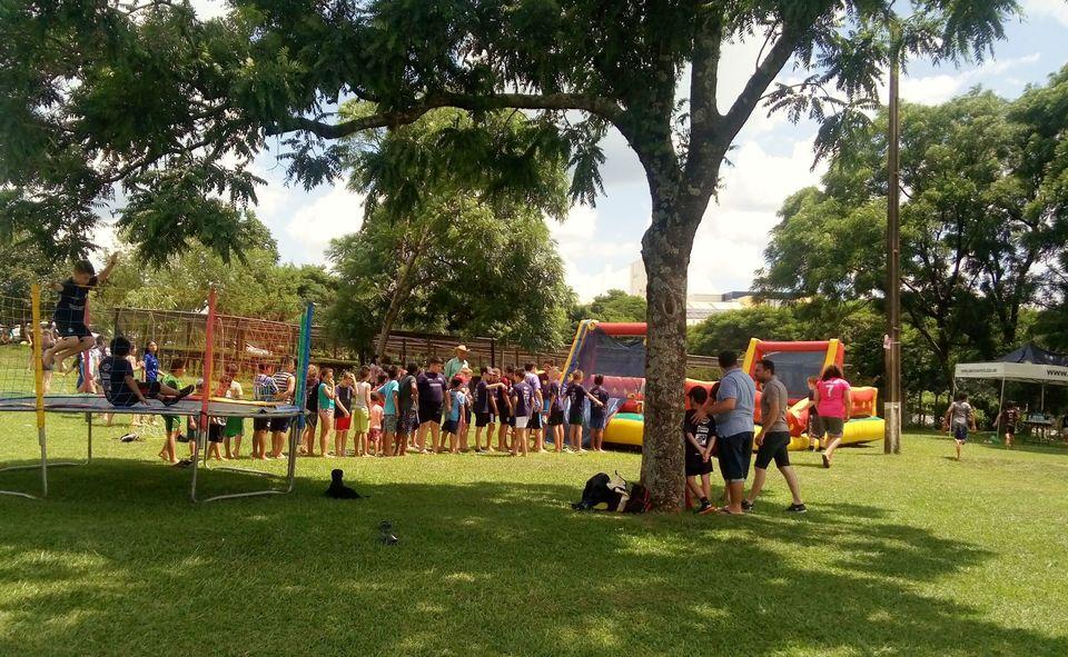Esporte e Emancipação organizou brincadeiras especiais no último sábado (14/12)