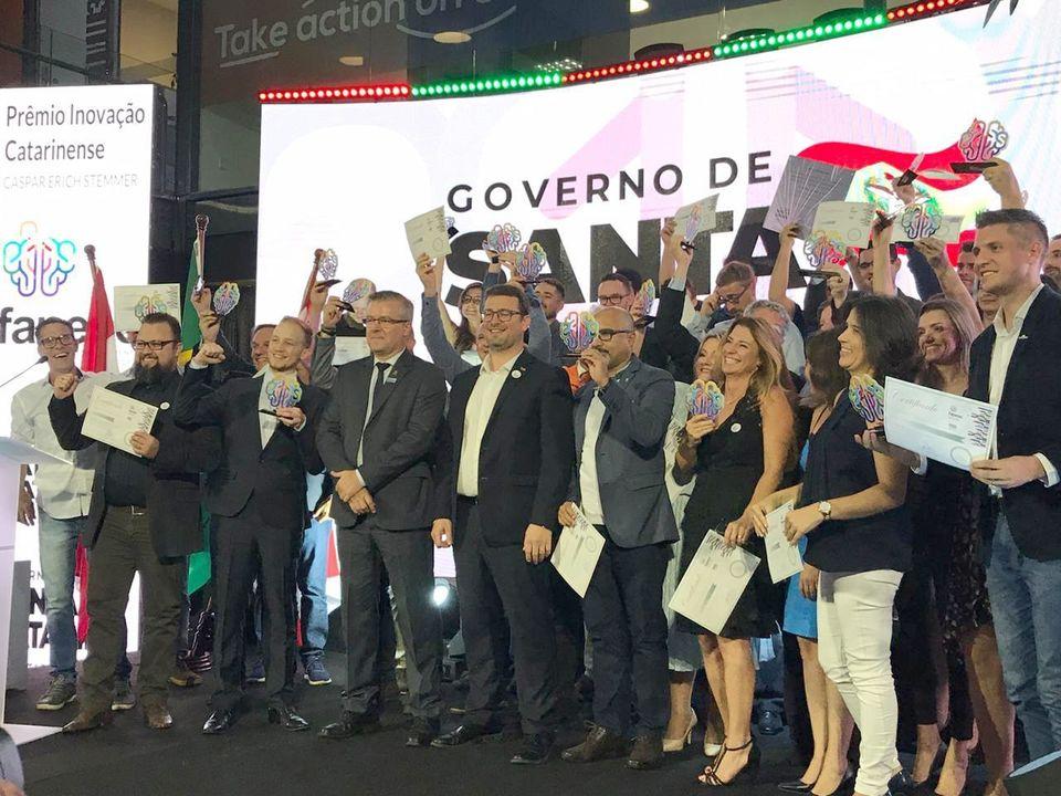 Unochapecó recebe Prêmio Inovação Catarinense