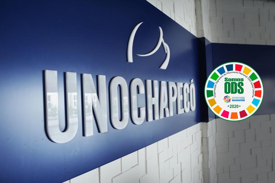 Unochapecó recebe selo de signatária ODS por mais um ano