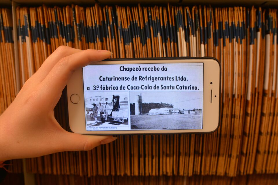 Ceom conta a história dos bairros de Chapecó com notícias da década de 70