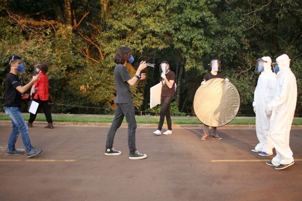 Estudantes de Produção Audiovisual iniciam gravações de curtas-metragens