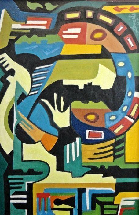 Obras do artista são expostas na galeria da Unochapecó