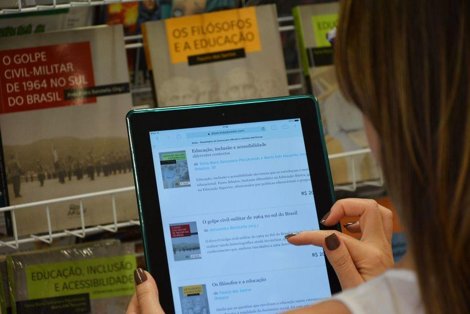 Argos Editora passa a integrar o catálogo da Kobo e FGV