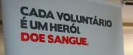 Campanha estimula doação de sangue