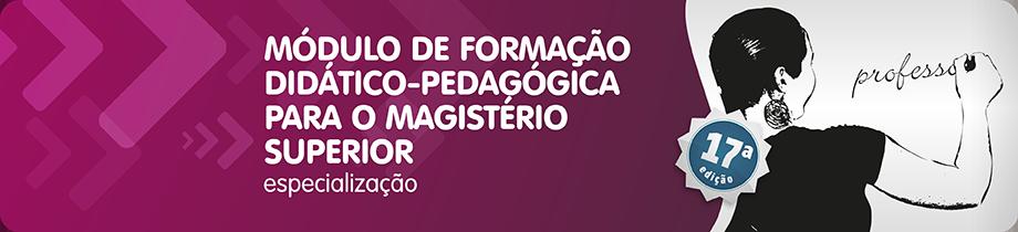 Módulo de Formação Didático Pedagógica para Magistério Superior