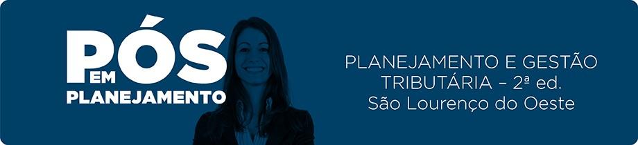 Planejamento e Gestão Tributária - SLO